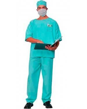 Costume Dottore-Chirurgo Adulto Tg. Unica