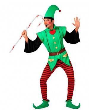 Costume Elfo di Natale Uomo