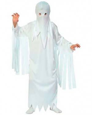 Costume Fantasma Halloween. Bambino Tg. Bebé