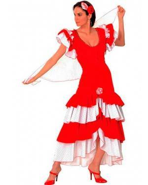 Costume Flamenco-Donna Adulto Tg. Unica