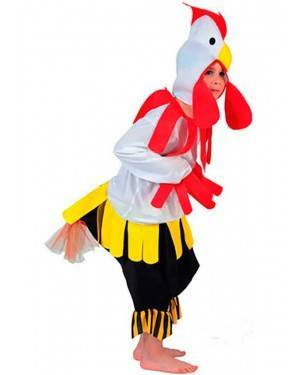 Costume Galletto-Gallo Bambini