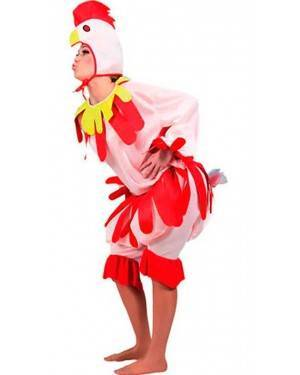 Costume Gallina Adulto Tg. Unica