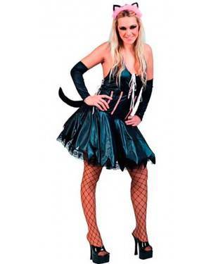 Costume Gattina Sexy Adulto Tg. Unica