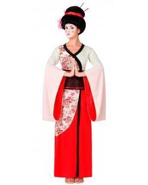 Costume Geisha Bianco/Rosso