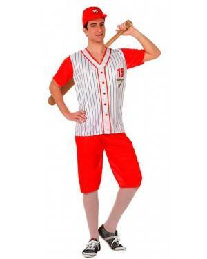 Costume Giocatore di Baseball Tg. M/L