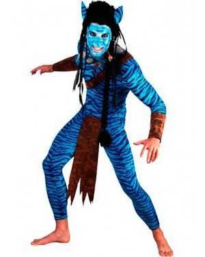 Costume Guerriero Avatar Uomo. Adulto