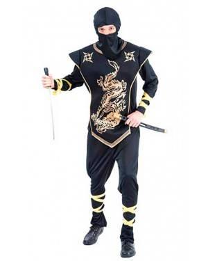 Costume Guerriero Ninja Adulto Tg. Unica