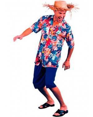 Costume Hawaiano-Hawaii Adulto Tg. Unica