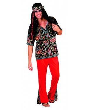 Costume Hippie Uomo. Adulto Tg. Unica