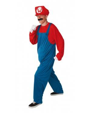 Costume Idraulico-Mario Adulto