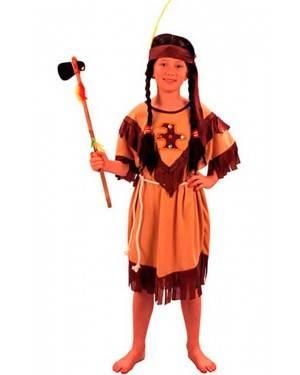 Costumi Indiana Bambina Tg. 4 a 12 Anni