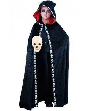 Costume Mantellina Halloween. Bambino Tg. 7 a 12 Anni