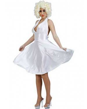 Costume Marilyn Adulto Tg. Unica