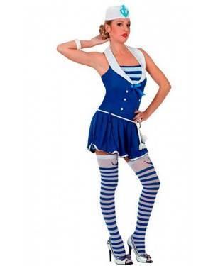 Costume Marinaia Sexy Blu Tg. XL