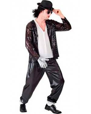 Costumi Michael Jackson-Re del Pop Adulto Tg. Unica