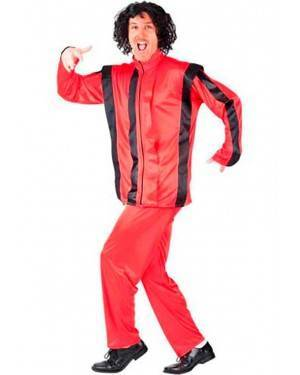Costume Michael Jackson-Zombie Pop Adulto Tg. Unica