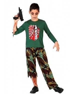 Costume Militare Zombie