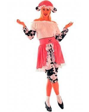 Costume Mucca Donna Adulto Tg. Unica