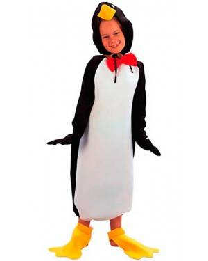 Costume Pinguino Bambini. Tg. 4 a 12 Anni