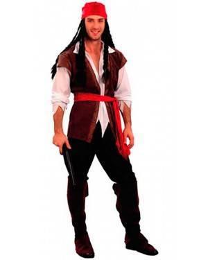 Costumi Pirata Corsaro Adulto