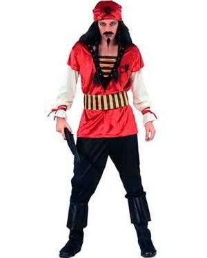 Costume Pirata Corsaro. Adulto Tg. Unica