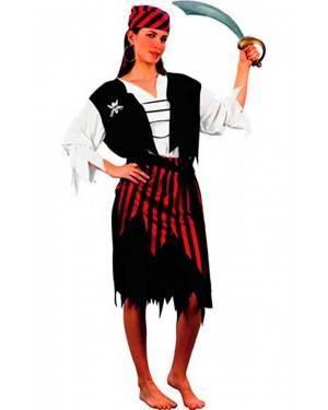 Costume Pirata Corsaro Donna Adulto