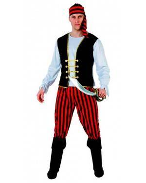 Costume Pirata Rigue Tg. M/L