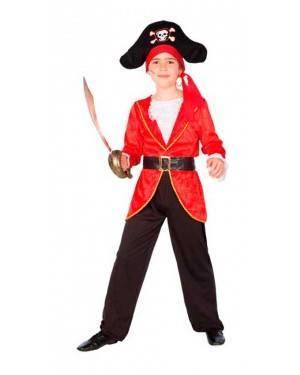 Costume Pirata Rosso Bambino