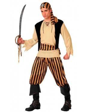 Costume Pirata Teschio Adulto