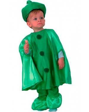 Costume Piselli Bambini Tg. 2-4 Anni