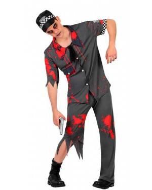 Costume Polizia Zombie Adulto
