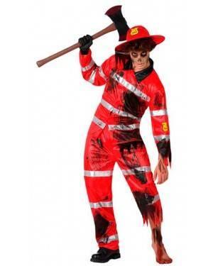 Costume Pompiere Zombie