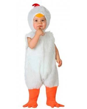 Costume Pulcino Bianco Baby
