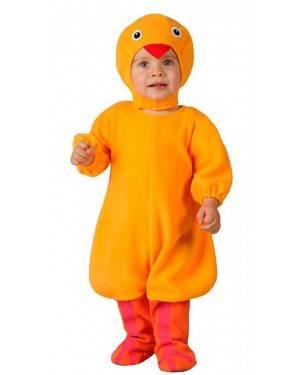 Costume Pulcino Giallo Baby