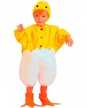 Costume Pulcino Tg. 2-4 Anni