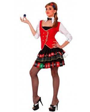 Costume Ragazza Roulette Tg. M/L