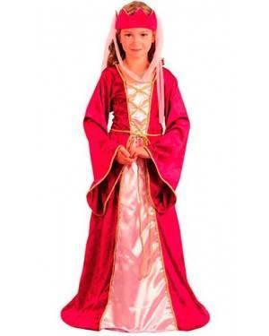 Costume Regina Bambina Tg. 4 a 12 Anni