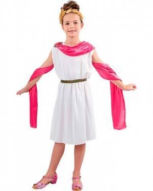 Costume Romana Bambina Tg. 4 a 12 Anni