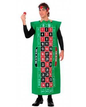Costume Roulette Adulto Tg. M/L