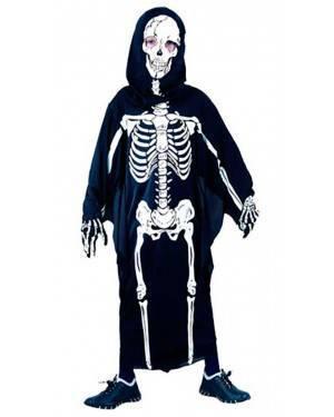 Costume Scheletro Bambini Tg. 7 a 12 Anni