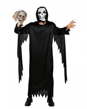 Costume Scheletro Tg. M/L