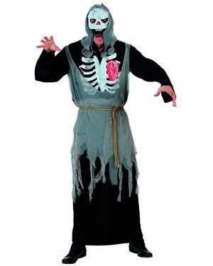Costume Scheletro Zombie Tg. M/L