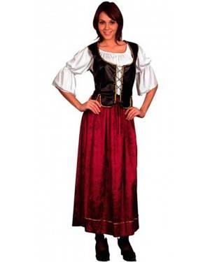Costume Serva Medievale Adulto Tg. Unica
