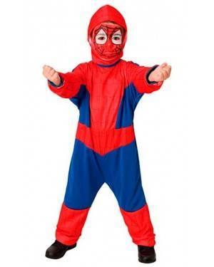 Costumi Spider Eroe Bambino Tg. 2-4 Anni
