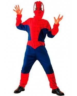 Costume Spider-Eroe Ragno. Bambini Tg. 4 A12 Anni