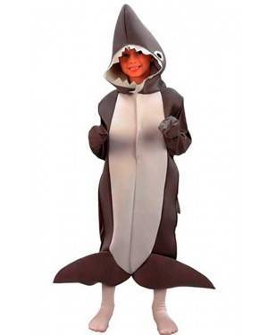 Costume Squalo Bambini Tg. 4 a 6 Anni