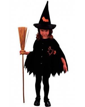 Costume Strega Bambina Tg. 2 a 4 Anni