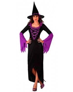 Costume Strega Nera-Viola
