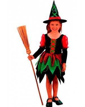 Costume Streghella Bambina. Tg. 2 a 4 Anni