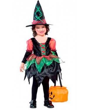 Costume Streghetta Baby. Tg. 8 a 18 Mesi